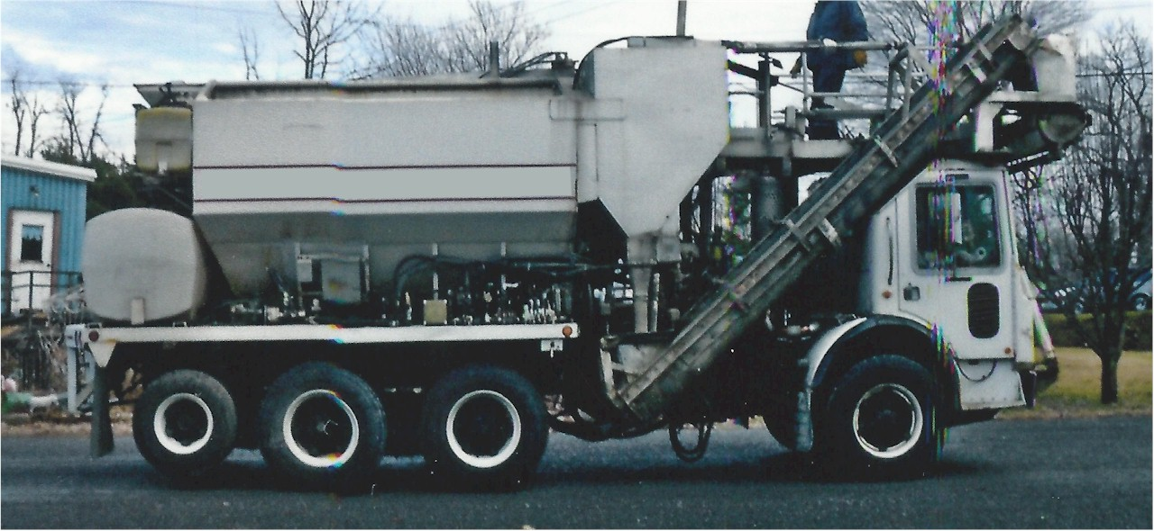 Used 1995 Zimm Mixer 8-9yd for Sale