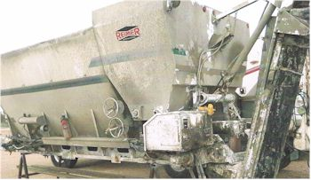 Used 2002 Reimer 10 yard Volumetric Mixer Body Only