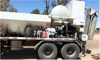 Used Zimmerman 6yd mobile volumetric mixer for sale